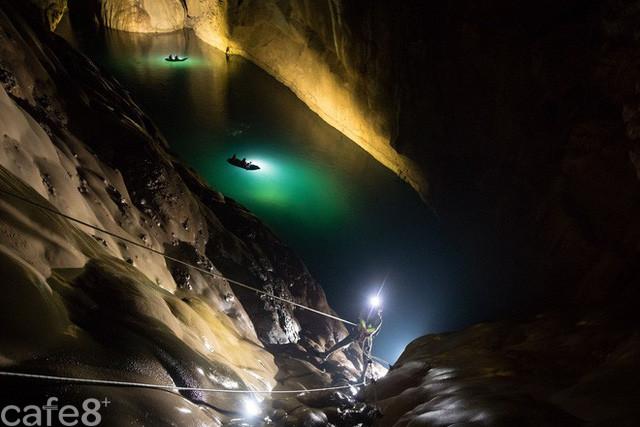 Phát hiện thêm hệ thống hang ngầm bí ẩn bên trong Sơn Đoòng - Ảnh 1.