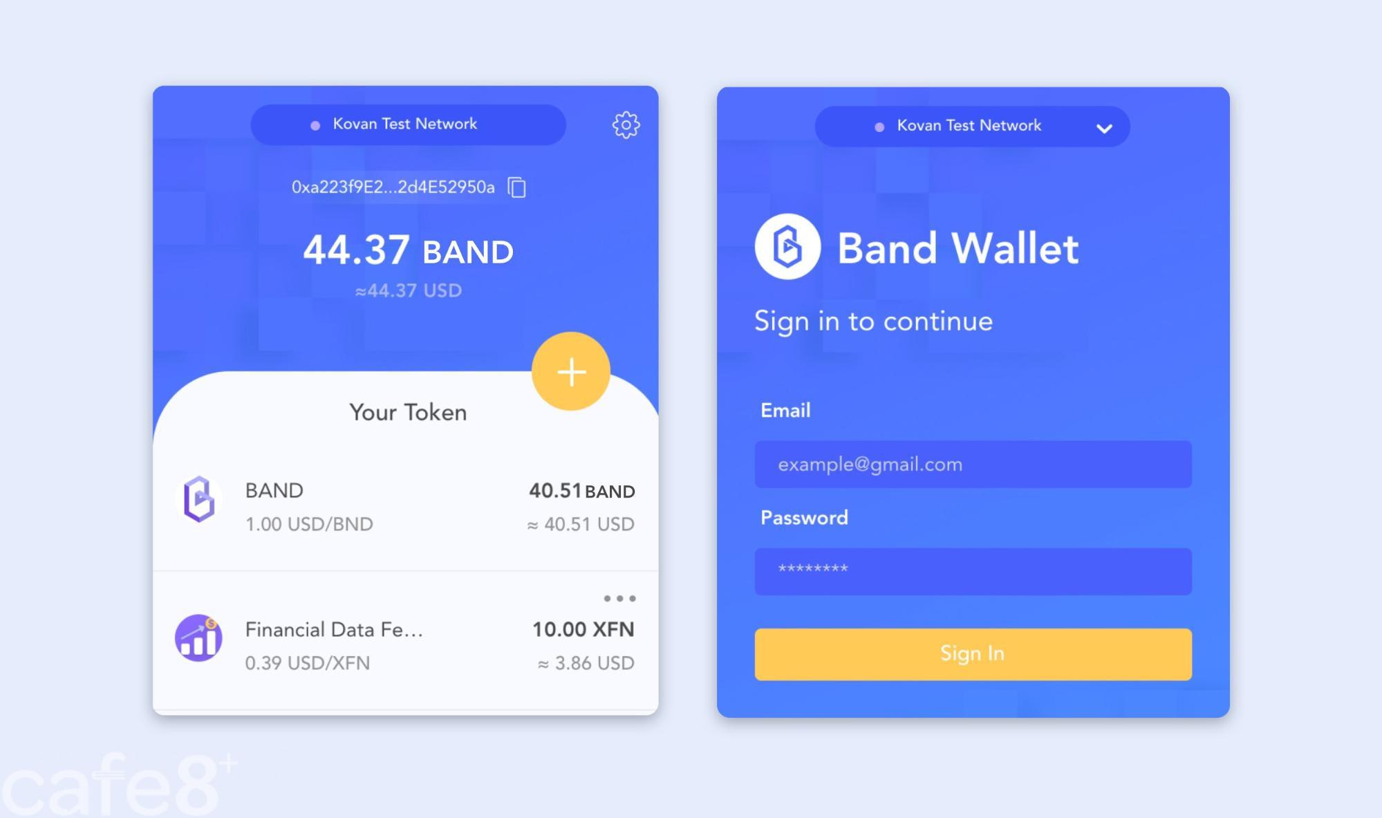 band wallet