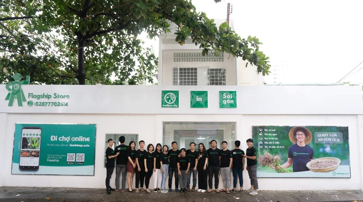 Cửa hàng của FoodMap tại tại địa chỉ số 284/5B Lũy Bán Bích, Phường Hòa Thạnh, Quận Tân Phú, TP.HCM